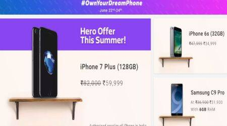 Flipkart Own Your Dream Phone sale: Top deals on iPhone 7 Plus, Google Pixel, and more