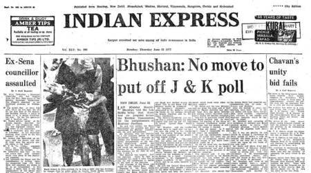 Forty Years Ago, June 23, 1977: J-K Polls On Schedule