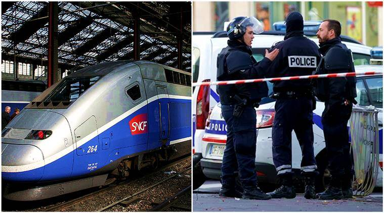 france, french train actor, actor mistaken for terrorist, french actor rehearsing caught in train, france train drama, indian express, indian express news