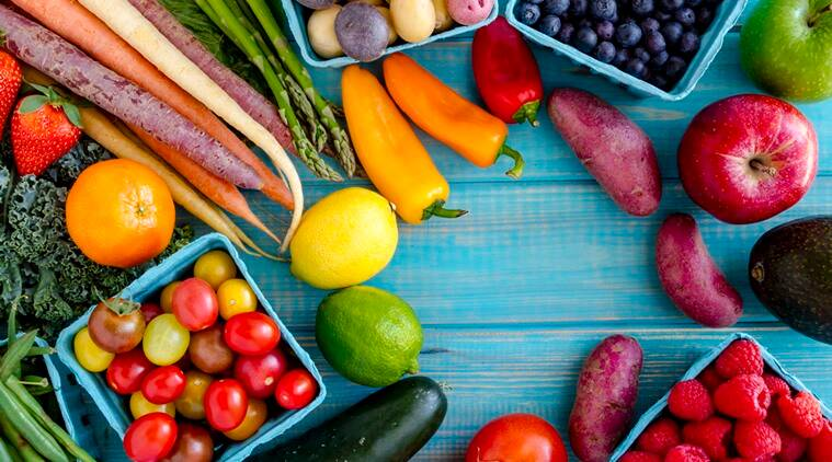 vegetables and weight loss, vegetables and nuts, vegetarian diets, Indian express, Indian express news