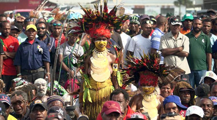 Papua New Guinea Election, Papua New Guinea Polling, New Guinea Election, Papua New Guinea Corruption, Papua New Guinea Voting, Papua New Guinea, World News, Latest World News, Indian Express, Indian Express News
