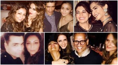 Alia Bhatt, Karan Johar and Sussanne Khan share all that happened at Gauri Khan's party. See inside photos