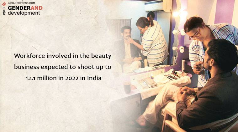 beauty parlours, beauty parlour delhi, delhi parlours, delhi salons, beauty industry, india news, genderand, indian express genderand