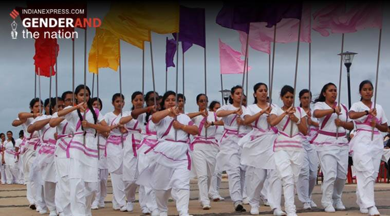 RSS, Rashtra Sevika Samiti, gender, women, young women in RSS, gender and nation