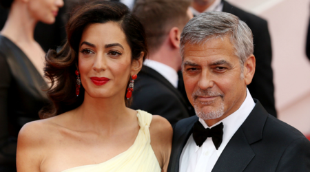 George Clooney and Amal's newborn twins Alexander and Ella turn internet sensations, Hollywood floods them with congratulations