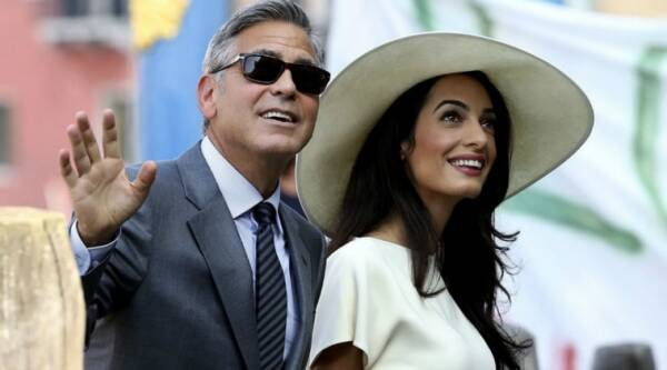 george clooney, amal clooney, george clooney wife, george clooney family