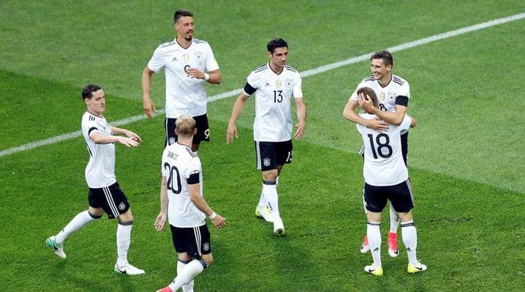 germany vs australia, confederations cup, russia confederations cup, football news, sports news, indian express