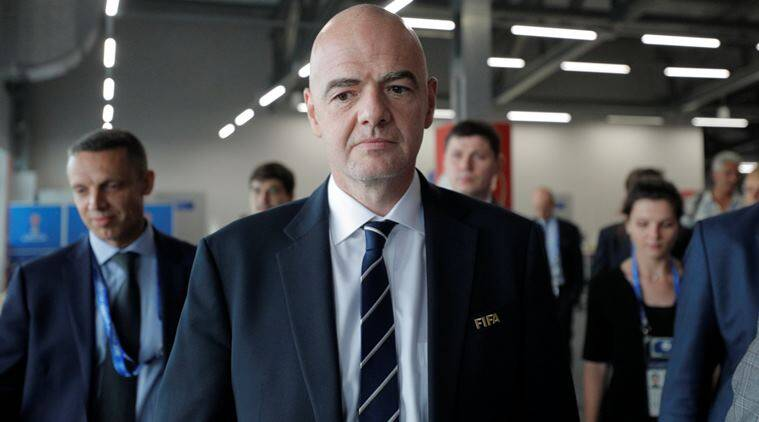 FIFA president, Gianni Infantino, 2018 World Cup, Russia, Confederations Cup