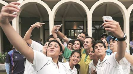 Adam Gilchrist, J&K women crickets, Jesus & Mary College women's team, Champions Trophy, India vs Pakistan, Indian Express