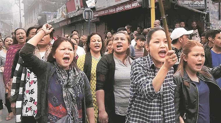 gjm, gorkha janmukti morcha, indian express