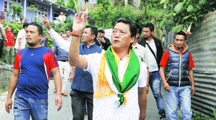 Darjeeling: GJM chief Bimal Gurung's office raided, weapons seized