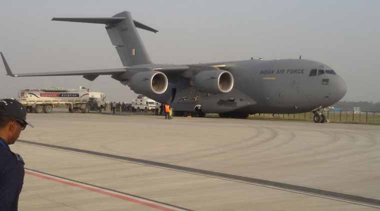 Indian Air Force, Floods in Assam, Floods in Assam valley, flood-prone Brahmaputra valley, Anil Khosla, disaster relief in Assam, India news, National news, Latest news