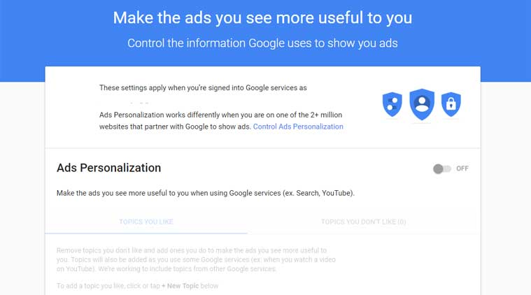 Google, Gmail, Gmail ad targeting, Gmail personalized ads, Gmail ads, Google scanning Gmail, Gmail scanning, Google G Suite