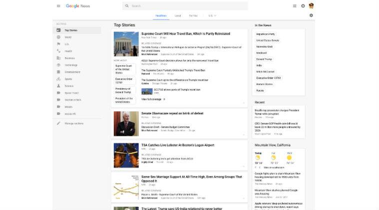 Google News, Google, Google News redesign, Google News update, Google News story cards