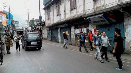 Indefinite shutdown enters 40th day, DGP to visit Darjeeling