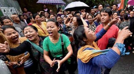Sikkim democratic front, SDF, Gorkhaland, Gorkhaland protest, Darjeeling protest, SDF support