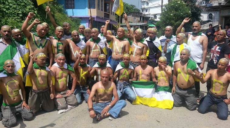 Paramilitary troops march on streets as GJM shuts down Darjeeling
