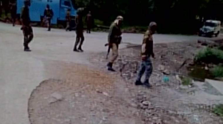 Terrorists target CRPF camp in J&K
