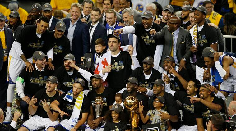 NBA Finals: Kevin Durant, Steph Curry lead Golden State Warriors to title in Game 5 win | The ...