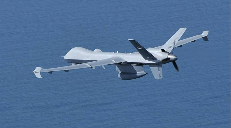 guardian drones, us india agreement, us sells gurdian drones, indian navy, modi meets trump, defence agreement