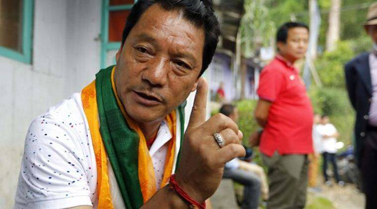 bimal gurung, gjm chief, gorkha janmukti morcha, indian express