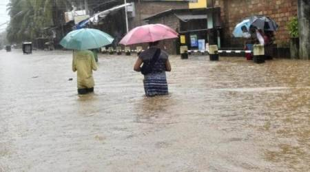 Heavy rains continue to lash Mizoram, Imphal