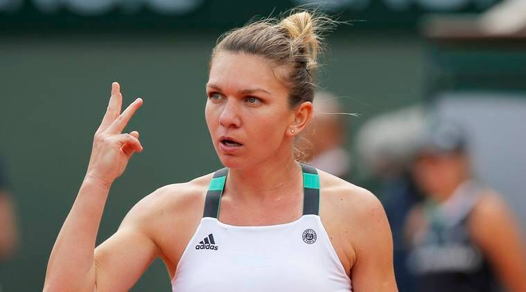Simon Halep, birmingham open, tennis, sports news, indian express