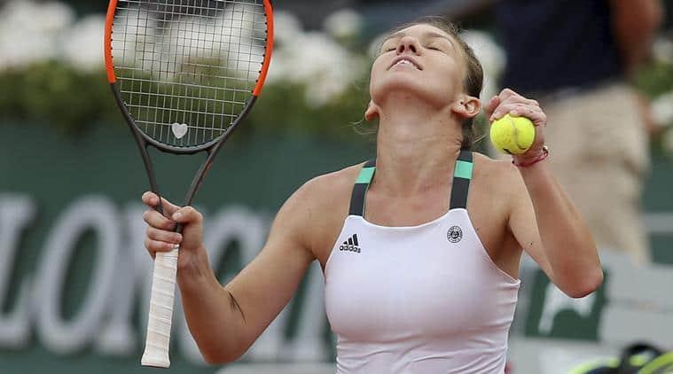 Simona Halep, Halep, Simona Halep vs Jelena Ostapenko, French Open 2017, Roland garros, Tennis news, Indian Express