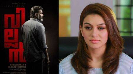 Hansika Motwani joins Mohanlal for Villain. See photo