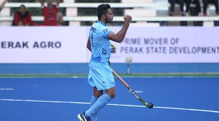 india hockey team, harmanpreet singh, indian express