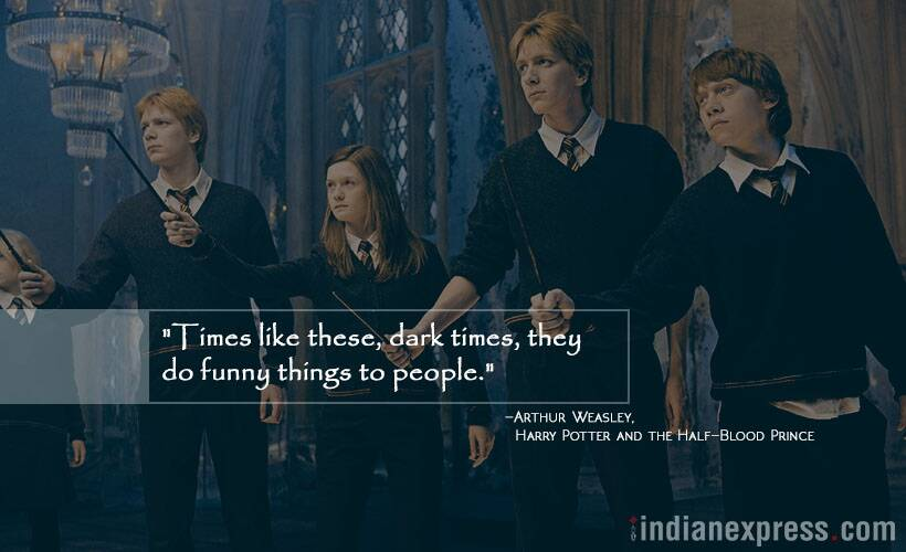 Photos 10 Times The Harry Potter Series Had The Perfect Spell To