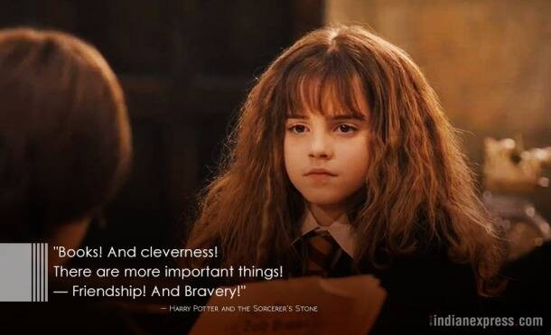 emm watson, harry potter, 20 years of harry potter, jk rowling, Hermione Granger, indian express, indian express news