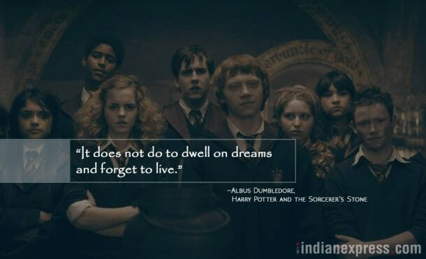 monday motivation, inspirational quotes from harry potter, jk rowling, motivational quotes, indian express, indian express news