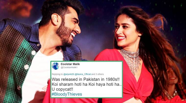 Just like the film, 'Hawa Hawa' is also celebratory: Arjun Kapoor
