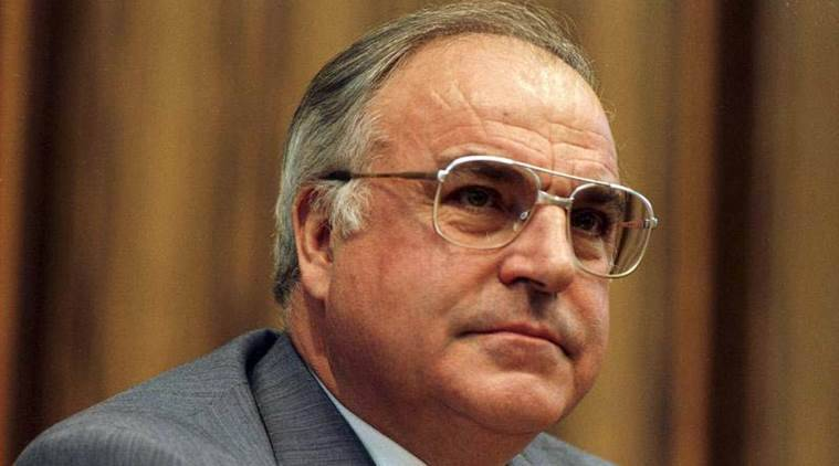 Helmut Kohl, Helmut Kohl passes away, Helmut Kohl dead, German reunification,  father of German reunification, Angela Merkel
