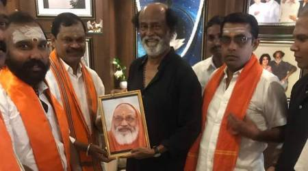 Rajinikanth meets Hindu Makkal Katchi leaders, says it was 'just a courtesy visit'