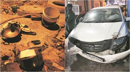 Pregnant woman run over by vehicle while washing utensils in Delhi, victim's aunt injured,critical