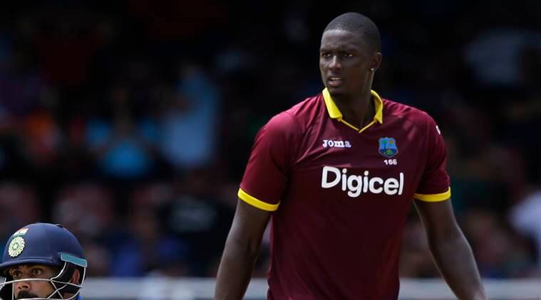 india vs west indies, jason holder, holder, ind vs wi, cricket news, cricket, sports news, indian express
