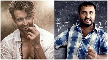 Hrithik Roshan to play mathematician and Super 30 helmer Anand Kumar in Vikas Bahl directedbiopic?