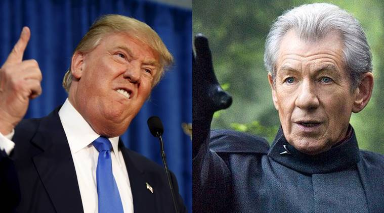 donald trump, ian mckellen, ian mckellen pics, donald trump pics, gay rights ian mc kellen,
