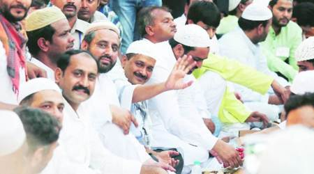 AAP clarifies, it wasn't a private iftar: Amid internal conflict, CM Arvind Kejriwal attends Amanatuallah Iftar