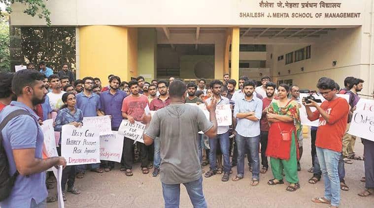 Maharashtra news, Hindutva vigilantism in Mumbai, Hindutva vigilantism in Maharashtra, IIT B students,