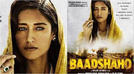 Baadshaho poster: After the badass men, meet Ileana D'Cruz in her bold and beautiful avatar, see photo