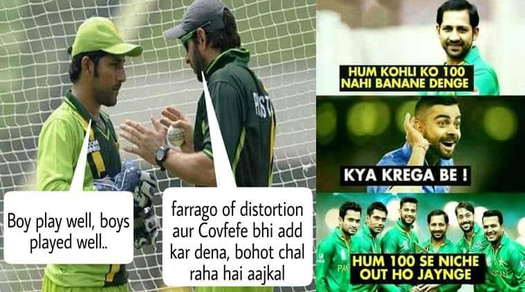 India Vs Pakistan These Cricket Jokes And Memes On The