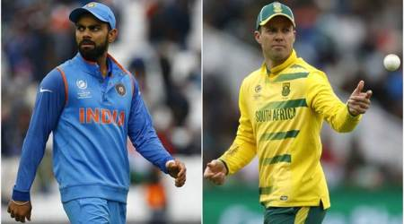 Virat Kohli, AB de Villiers, India vs South Africa