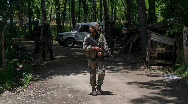 Jammu Kashmir Militant Killed, Bandipora Militant Killed, Jammu Kashmir Indian Army, Bandipora Indian Army, India News, Indian Express, Indian Express News