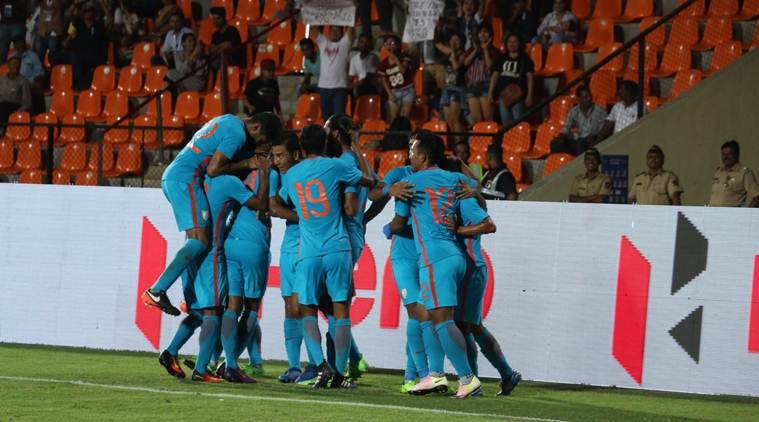 Indian football, India vs Kyrgyz Republic, Indian Express