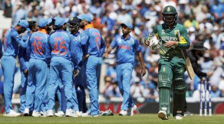 India vs South Africa, ICC Champions Trophy 2017: South Africa collapse after steady start; restricted to 191