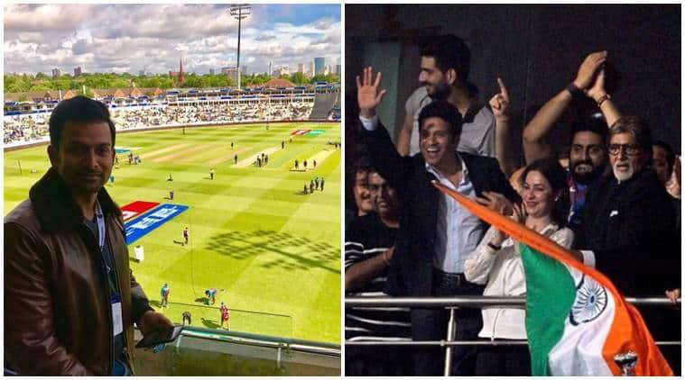India Vs Pakistan, India Vs Pakistan match, India Vs Pakistan match live updates, India Vs Pakistan reactions, Prithviraj Sukumaran, Abhishek Bachchan