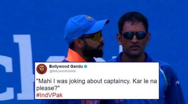 ICC champions trophy, india vs pakistan, poor performance by india, sunday finals, twitter reaction, indian express, indian express news